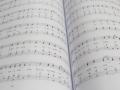 Сборка нот в твердый переплет