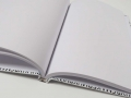 Сшивка блока книги с пустыми страницами